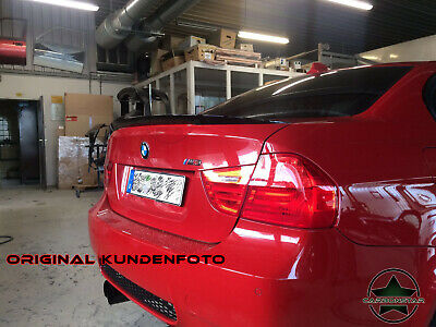 BMW E90 3er M Performance Stil Heckspoiler Spoiler Lippe HIGH QUALITY