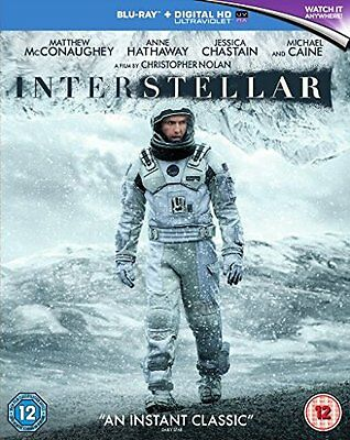 Blu-Ray   Interstellar     Brand New Sealed Uk Stock