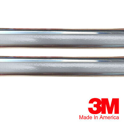 """Vintage Style 7//8/"""" Silver /& Chrome Side Body Trim Molding For Chevy Caprice"""