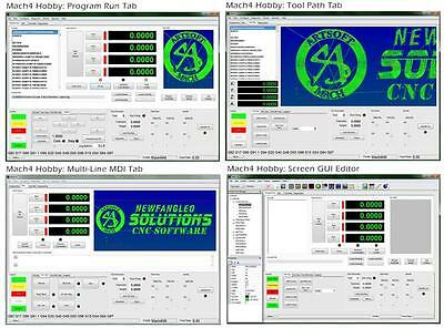 Mach4 CNC software, no shipping fee, email you the license file