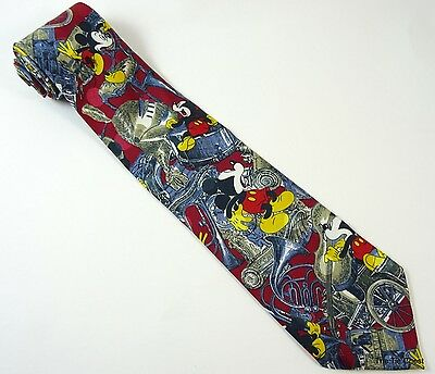 Mickey Mouse Music Tie Funny Band Necktie Disney