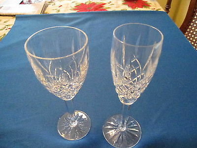 """Waterford """"araglin"""" Champagne Flute, 8 1/2""""h, Price Is Each,excellent Condition."""
