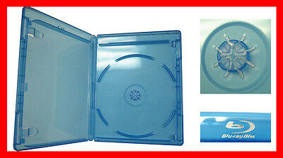 New 20 Pk VIVA ELITE Blu-Ray Case Single 1 Disc Storage Holder 12.5 mm Standard