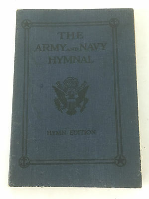 1925 Army & Navy Hymnal Book