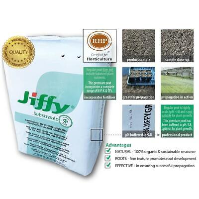 Jiffy® Fine Peat Moss Substrate | nursery grade | Potting Mix & Seed Propagation