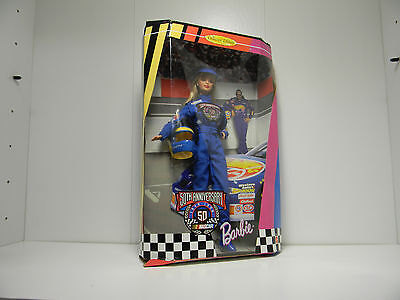 Barbie Nascar 50th Anniversary 1998 Collector Edition