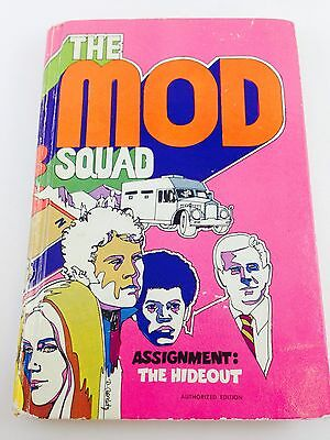 """The Mod Squad Book - """"Assignment The Hideout"""" 1970 Edition"""