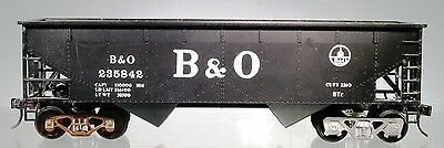 Weaver O Scale (1/48) B&O Two Bay Hopper Car 1600-01