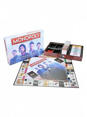 Monopoly Supernatural Join the Hunt Board Game. Free Shipping