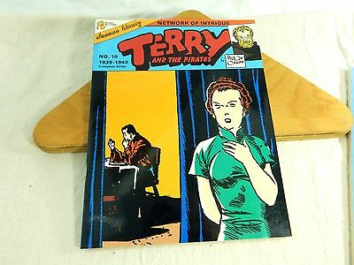 Terry and the Pirates Network of Intrigue #10 1939- 40 Milton Caniff Flying NOS