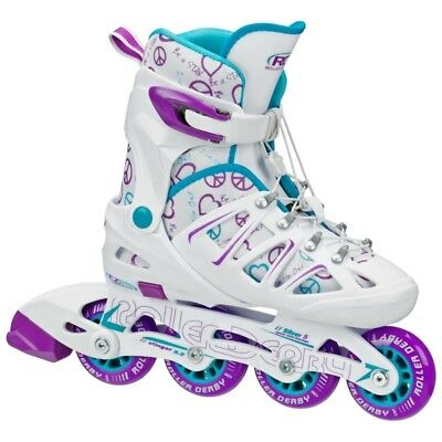 Stinger 5.2 Girls Size Adjustable Inline Skates