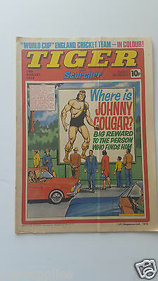 Tiger and Scorcher Comic 18th August 1979  World cup England cricket team