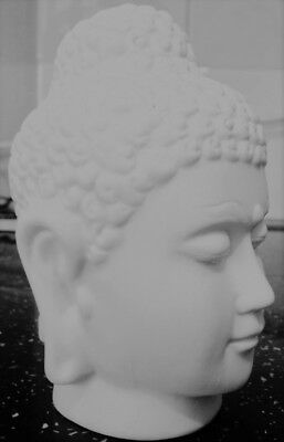 Buddha Head 10cm, Latex Craft Mould Ornament Reusable Art & Crafts Hobby