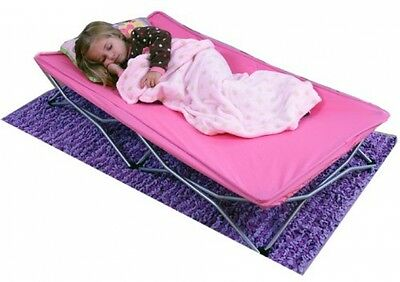 Regalo My Cot Portable Toddler Bed, Pink - Brand New !!