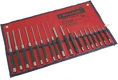 Punch Set - 18 Piece in red pouch
