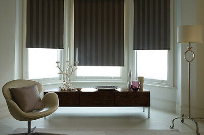 ROLLER BLINDS MADE 2 MEASURE / HIGH QUALITY NAPPA DESIGNER FABRIC in 10 COLOURS