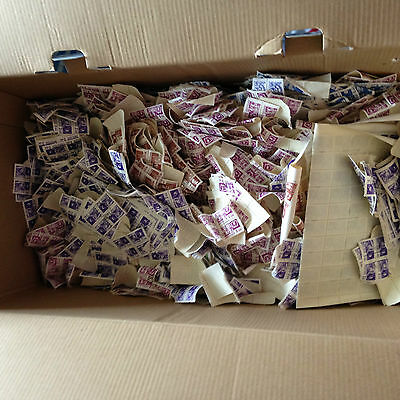 packet makers heaven, shoebox Russia 0.6 kilos approx 20.000 stamps need soaked