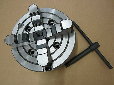 "8"" precision 4 jaw indenpendent lathe chuck"
