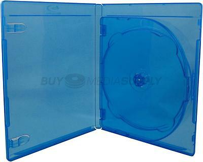 12mm Standard Blu-Ray 3 Discs DVD Case - 5 Piece
