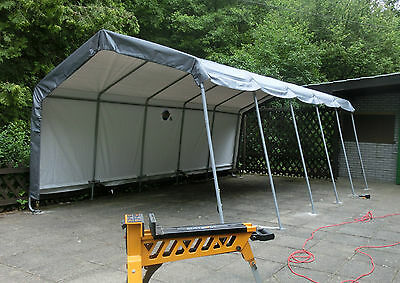 Event Unterstand 6m x 3,7m x 2,6m f. Catering Buffet Band Open Air Konzert Bühne