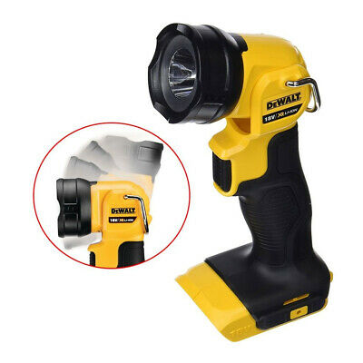 Dewalt DCL040N 18V XR Li-ion LED Pivot Light Torch Naked Body Only DCL040