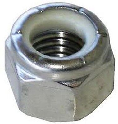 Stainless Steel 7/8-9 Nylon Insert Lock Nut 18/8 304 1 Pack