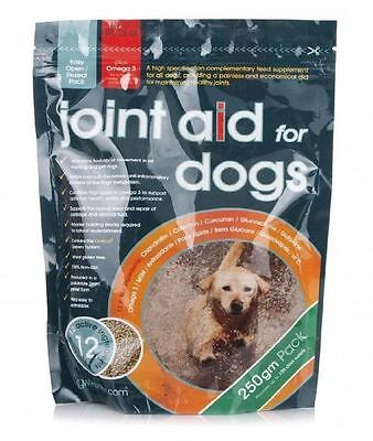 GWF Nutrition Hip & Joint Aid 250gm granules for Dogs helps Maintain Mobility