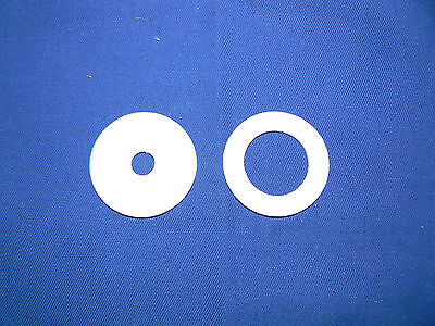 PTFE Washers 1.5mm ranging from 8mm - 40mm