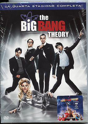 THE BIG BANG THEORY STAGIONE 4 NUOVO, Cofanetto 3DVD, ITALIANO