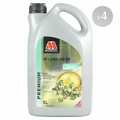 Millers XF Longlife EB 5w-20 Fully Synthetic Engine Oil 4 x 5 Litres 20L