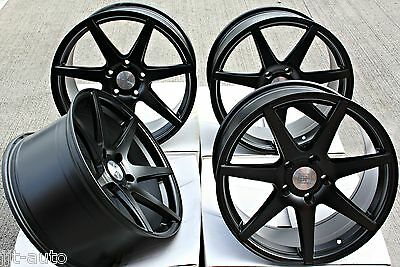 """18"""" Cruize Z1 Mb Staggered Concave Matt Black 5X120 18 Inch Alloy Wheels"""
