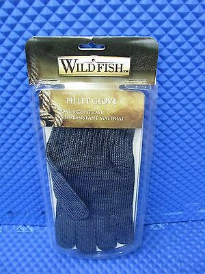 Wild Fish Fillet Glove To Clean Fish - One Size Fits All Item WFSSG