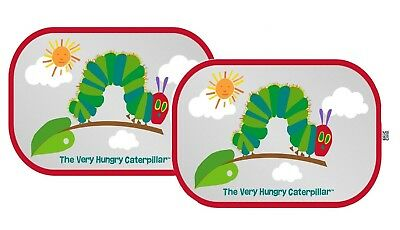 Erlic Carle : The Very Hungry Caterpillar Car Window Shade - Pop Open Cling Sun