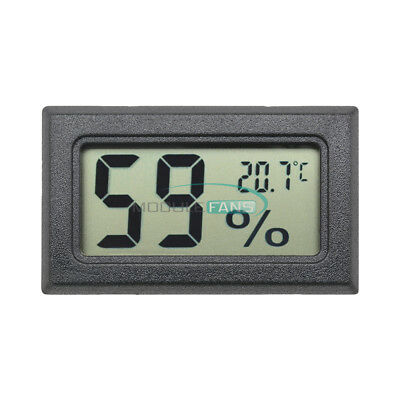 Mini Digital LCD Indoor Temperature Humidity Meter Thermometer Hygrometer WOUS