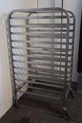 Stainless Steel Bakery Full Size Pan Rack on Casters Dozens of Carts Available!