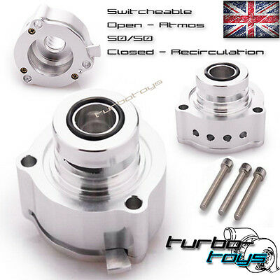Switchable Vw Golf Mk5 Mk6 1.4 1.8 2.0 Gti R Tfsi Dump Blow Off Bov Dump Valve