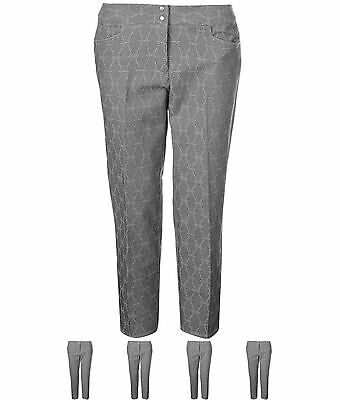 SALDI adidas Advance Golf Pantaloni Donna Grey