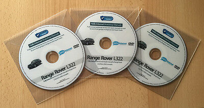 RANGE ROVER L322 VOGUE • Land Rover Workshop Service & Repair Manual + Wiring