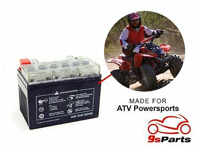 YTX4L-BS Maintenace Free 12V Sealed Gel Battery Motorcycle Powersports Scooter