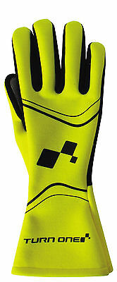 Turn One FIA Approved Gloves - FLURO - RACE RALLY TRACK