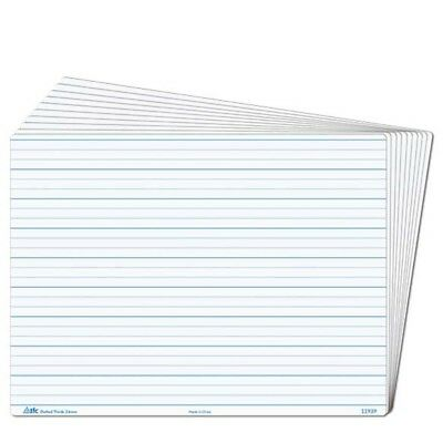 Whiteboard Dotted Thirds Write N Wipe Desk A4 (2 Piece) Writing Teacher Resource