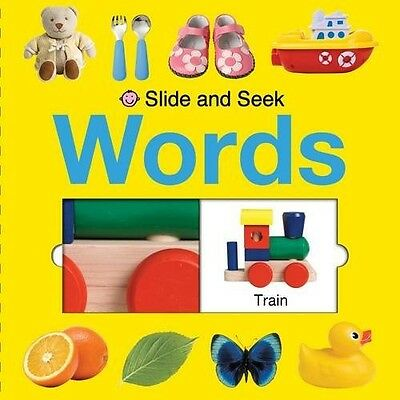 Words (Slide and Seek) Roger Priddy New Book