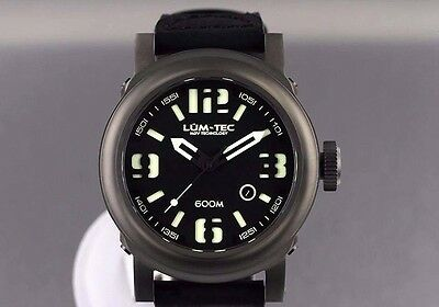 ✅ Lum-Tec Abyss 600M-1 Diver New+Gift Mens Watch Limited Edition 150 Pcs. Dealer