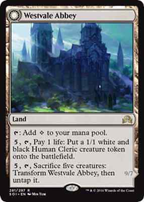 Westvale Abbey New, MTG, Shadows Over Innistrad