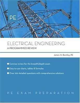 Electrical Engineering: A Programmed Review - New Book Bentley, James H.