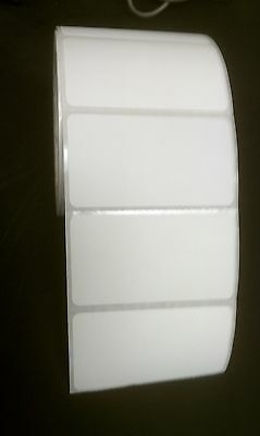 "Direct Thermal 3"" x 2"" Paper Labels for Zebra 2844/GK/GX, 12 Rolls of 750 ea."