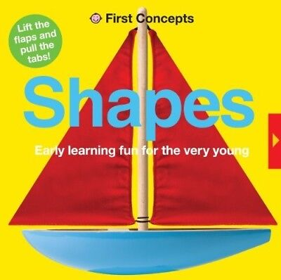 Shapes (First Concepts) - New Book Roger Priddy