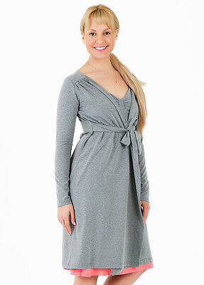 NEW - Amoralia - Mandy Maternity Cardigan in Grey