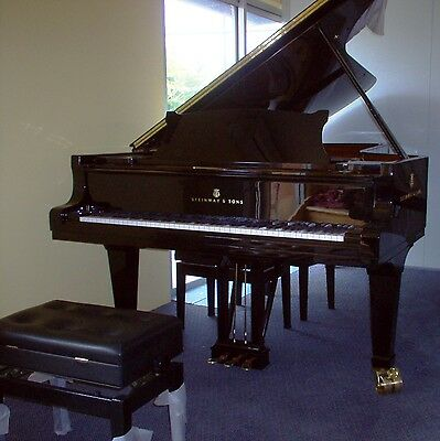 1989 Steinway & Son Model D Concert Grand Piano
