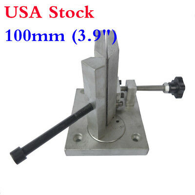 "USA!! 3.9"" 100mm Dual-axis Metal 3D Channel Letter Angle Bending Machine Bender"